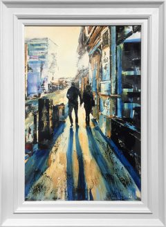 Hugh Winterbottom Holding Hands Original Painting