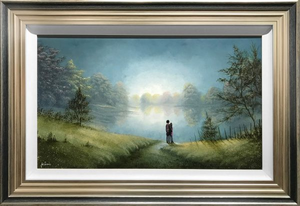 Danny Abrahams Original Painting A Peaceful Moment