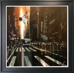David Coulter New York II Original Painting for sale