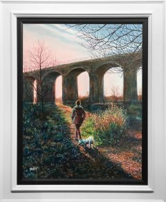 Phil Ashley Reddish Vale Original Painting for Sale