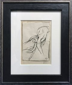 Keith Vaughan Figure Study Original Drawing for Sale