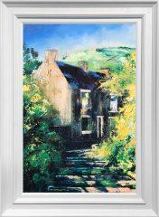 Hugh Winterbottom Near My Studio Original Painting