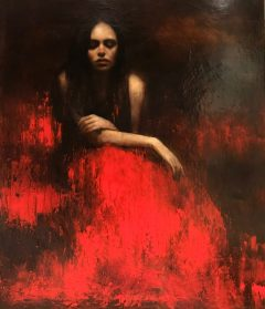 Mark Demsteader Bird Song Original Oil Painting