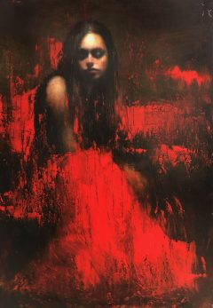 Mark Demsteader Study for Evensong