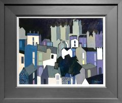 Peter Stanaway Durham Cathedral Original Painting for Sale