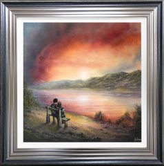 Danny Abrahams Original Painting Taking a Moment