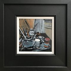 David Coulter Original Painting Studio Still Life