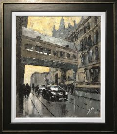 David Coulter Lloyd Street Bridge Original Painting for sale