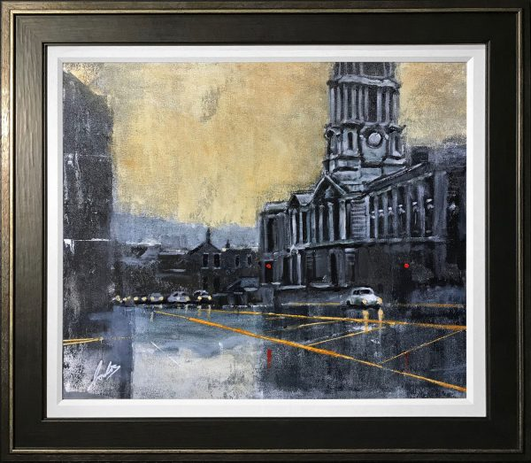 David Coulter Stockport Town Hall from Gallery Steps
