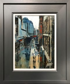 David Coulter Market Street Original Painting for sale