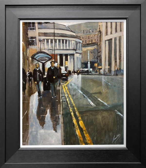 David Coulter Peters in the Rain