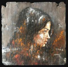 Jamie Green Diminish Painting on Slate