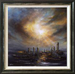 Danny Abrahams Original Painting Manchester