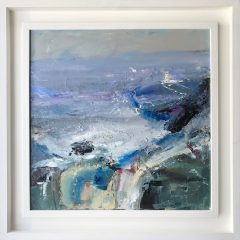 Judith Donaghy Wild Sea Southstack Anglesey Original Painting