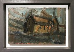 Richard Fitton Church Original Painting for Sale