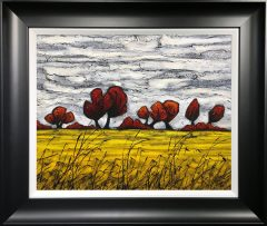 Steve Capper Cheshire Landscape Original Painting