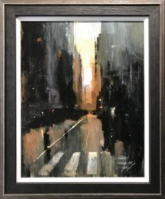 David Coulter Deansgate Sunrise Original Painting for sale