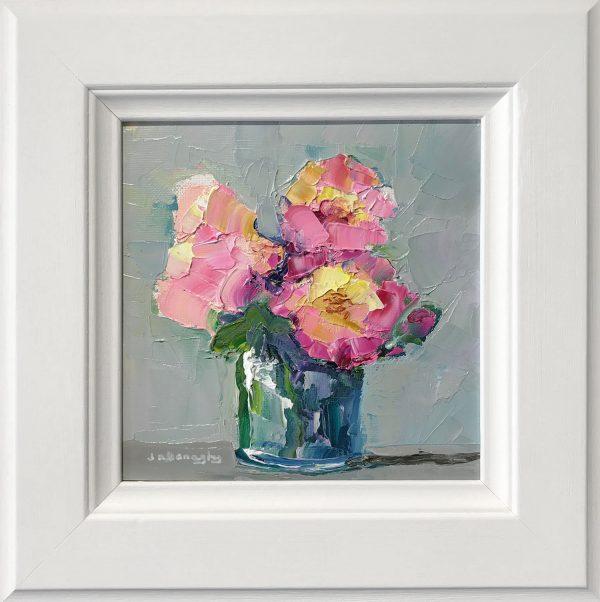 Judith Donaghy Peonies Original Painting