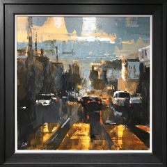 David Coulter Sunset Original Painting for sale