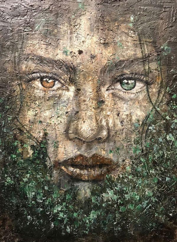 Jamie Green Green Original Painting