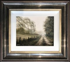 Danny Abrahams Original Painting Misty Morning