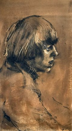 CAT No: 41 - HAROLD RILEY - PORTRAIT 1965
