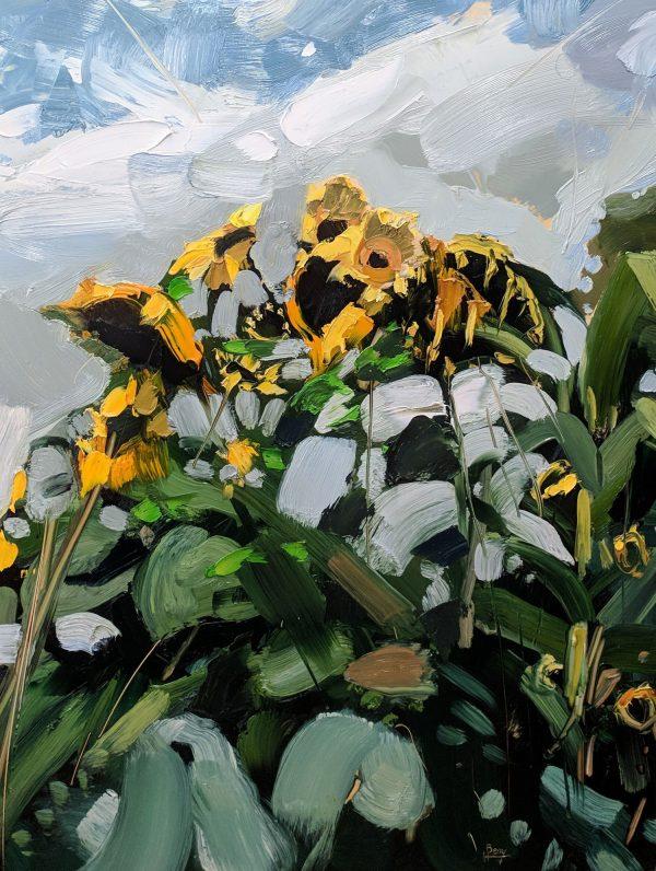 Hester Berry Zebedee's Sunflowers