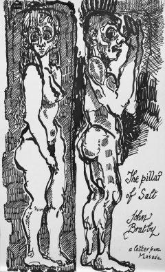 JOHN BRATBY - THE PILLAR OF SALT