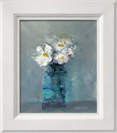 Judith Donaghy Daisies Original Painting