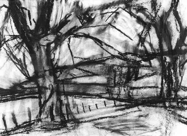 Richard Fitton Cumbrian Landscape Original Painting for Sale 2