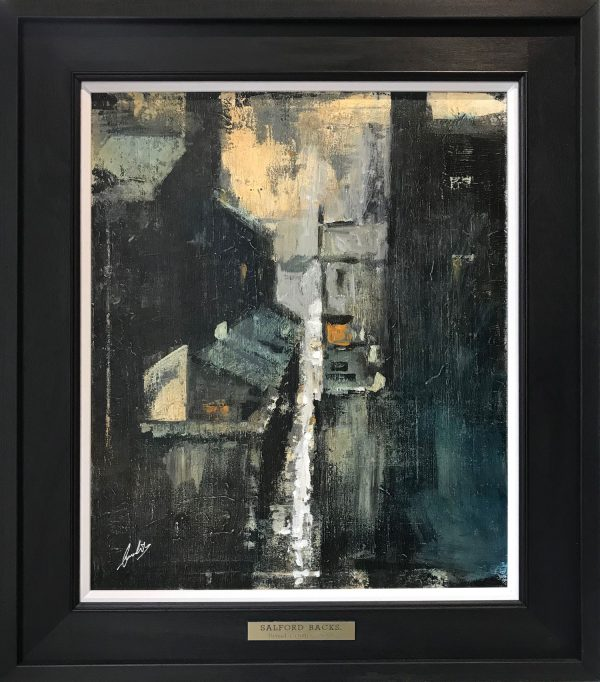 David Coulter Painting from Coronation Street Exhibition