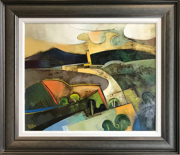 Geoffrey Key Evening Landscape