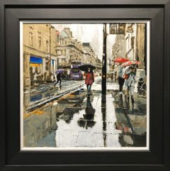 David Coulter Towards Royal Exchange Original Painting for sale
