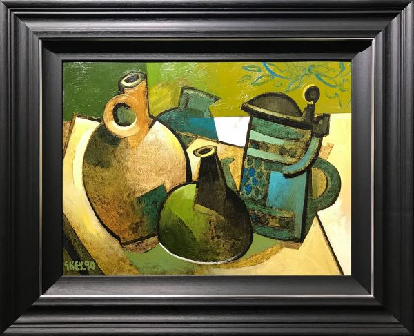 Geoffrey Key Still Life with Tankard