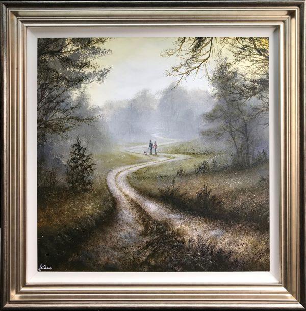 Danny Abrahams Original Painting Loving Autumn