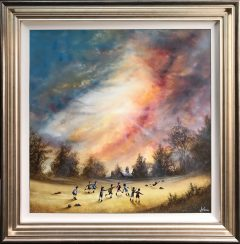 Danny Abrahams Original Painting A Thunderbolt