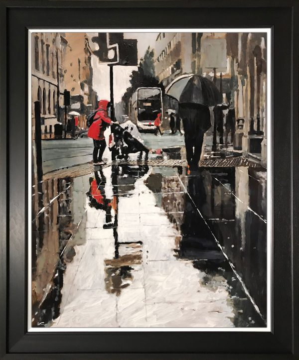 David Coulter Cross Albert Original Painting for sale
