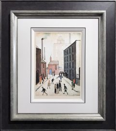 L S Lowry – Industrial Scene – Signed Limited Edition Print