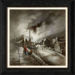 Bob Barker Run of the Mill Signed Limited Edition Print