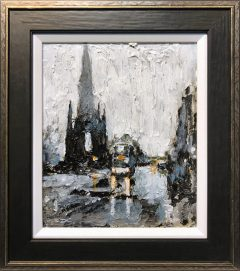 David Coulter Princess St, Edinburgh Original Painting for sale