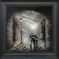 Bob Barker Original Painting for sale Marching on Together