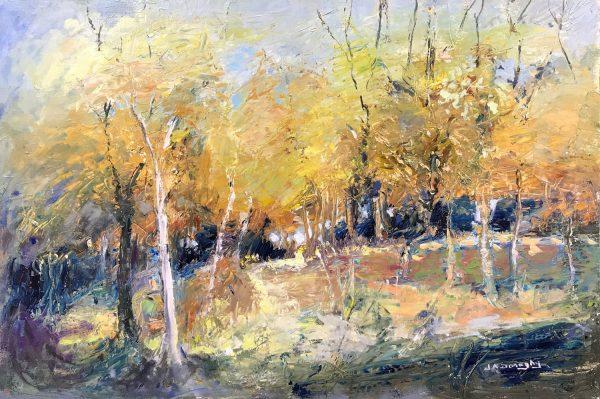 Judith Donaghy Frodsham Woods Landscape