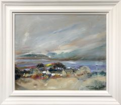 Judith Donaghy Frodsham Looking out to Anglesey Landscape