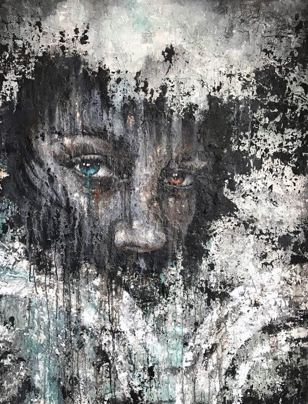 Jamie Green Blue Tear