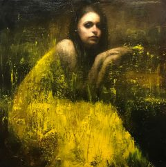 Mark Demsteader Study for Yellow Fields