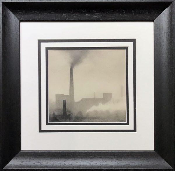 Trevor Grimshaw Smoke & Steam 1971 Original Drawing for Sale