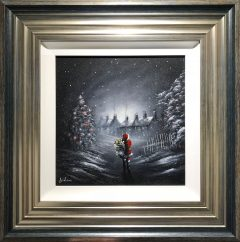 Danny Abrahams Original Painting When the Night Falls Silent