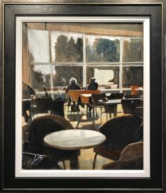 David Coulter Afternoon Tea Original Painting for sale