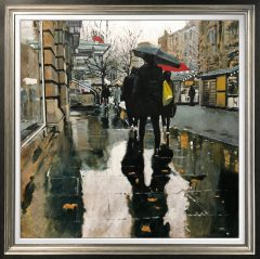 David Coulter The St Anne's Square Original Painting for sale