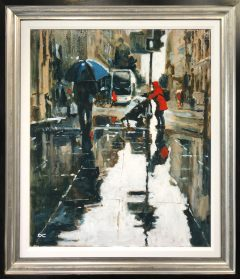 David Coulter Going Home Original Painting for sale